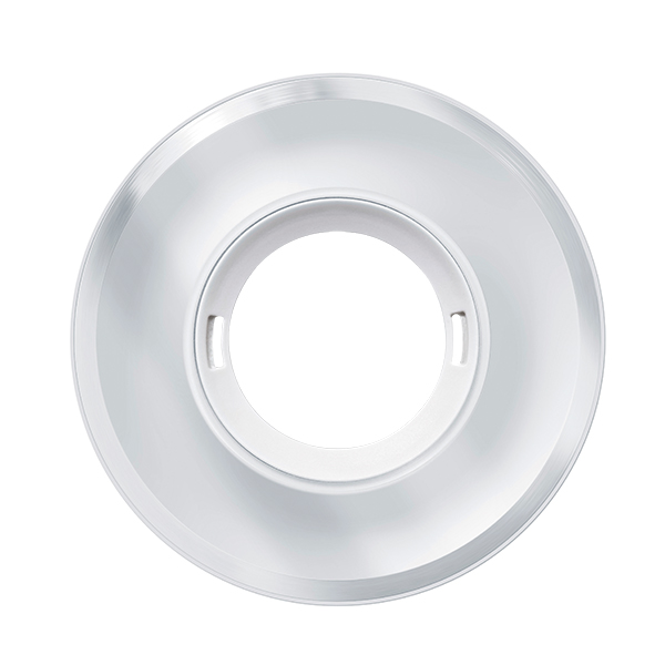 FLAT COVER GLASS ROUND WH